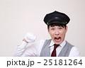 ドライバー 運転手 (タクシー TAXI 男性 バス ハイヤー 30代 会社員 営業車 制帽) 25181264