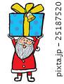 クリスマス サンタクロース 笑顔のイラスト 25187520