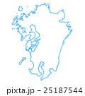 九州地図 25187544