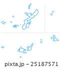 沖縄県地図 25187571