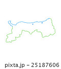 鳥取県地図 25187606