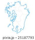 九州地図 25187793