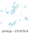 沖縄県地図 25187814