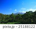 知床 世界遺産 山の写真 25188122