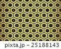 亀甲 松竹梅 和柄のイラスト 25188143
