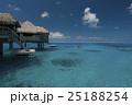 ボラボラ島の水上コテージ 25188254