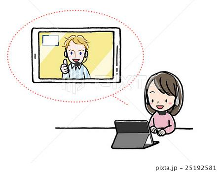 「テレビ電話 イラスト」の画像検索結果