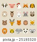 動物アイコン 25193320