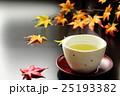 お茶 秋 日本茶の写真 25193382