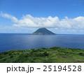 八丈小島 風景 海の写真 25194528