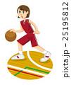 バスケ女子 25195812