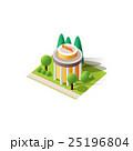 建物 ベクタ ベクターのイラスト 25196804