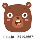 ベクトル くま クマのイラスト 25198667