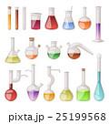 Lab flask vector set. 25199568