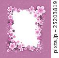 Banner with sakura flowers 25203819