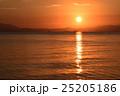 琵琶湖の朝の風景 25205186