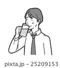 ビール 飲む 生ビールのイラスト 25209153