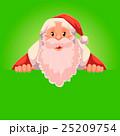 サンタ サンタクロース クリスマスのイラスト 25209754