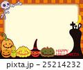 ハロウィン ポストカード ジャック・オー・ランタンのイラスト 25214232