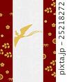 背景 フレーム 和柄のイラスト 25218272