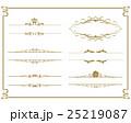 飾り罫 枠 25219087