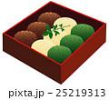 和菓子 スイーツ おやつのイラスト 25219313