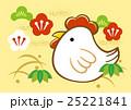 酉 鳥 鶏のイラスト 25221841