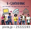 オンラインショッピング オンライン ネットショップの写真 25222283