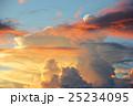 夕焼け雲 25234095