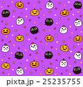 ハロウィンパターン 25235755