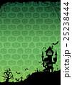 ハロウィン 背景 ポストカードのイラスト 25238444