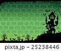 ハロウィン 背景 ポストカードのイラスト 25238446