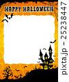 ハロウィン 背景 ポストカードのイラスト 25238447