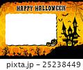 ハロウィン 背景 ポストカードのイラスト 25238449