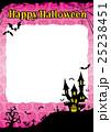 ハロウィン 背景 ポストカードのイラスト 25238451