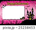 ハロウィン 背景 ポストカードのイラスト 25238453