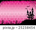ハロウィン 背景 ポストカードのイラスト 25238454