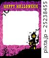 ハロウィン 背景 ポストカードのイラスト 25238455