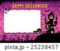ハロウィン 背景 ポストカードのイラスト 25238457