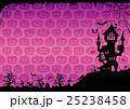 ハロウィン 背景 ポストカードのイラスト 25238458