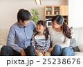 家族 仲良し 笑顔の写真 25238676