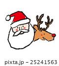 イベント クリスマス サンタのイラスト 25241563