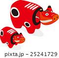 赤べこ(福島の民芸品) 25241729