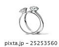 ダイヤモンドリング, 結婚指輪 25253560