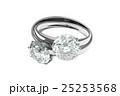 リング 指輪 ダイヤモンドのイラスト 25253568
