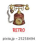 テレフォン 電話 フォンのイラスト 25258494