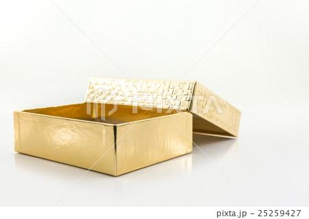 Gold color box.の写真素材 [25259427] - PIXTA