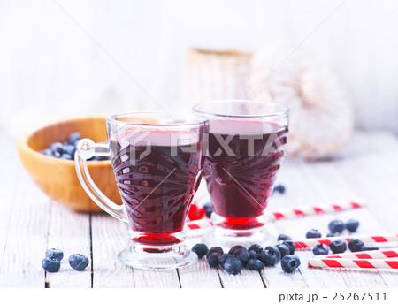 blueberry juiceの写真素材 [25267511] - PIXTA