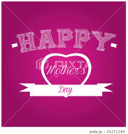 Happy mother's dayのイラスト素材 [25271284] - PIXTA
