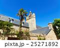 ブレア島の教会と青空 25271892